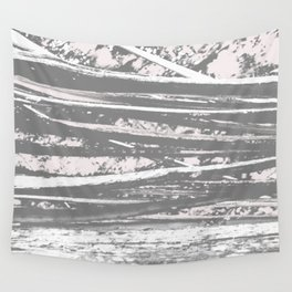 Cracking branch (charcoal) Wall Tapestry
