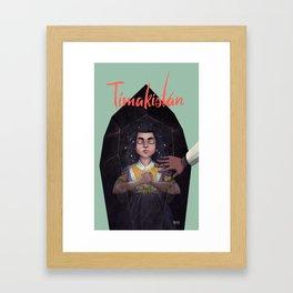 Tímakistan Framed Art Print