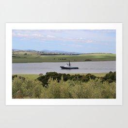 Tug -Tamar River -Tasmania* Art Print