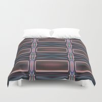 hollywood Duvet Covers featuring Hollywood Squared by Helyx Helyx