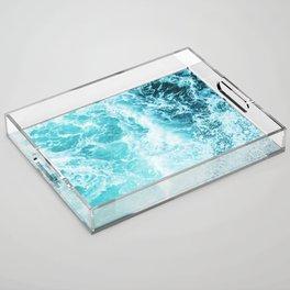 Perfect Sea Waves Acrylic Tray