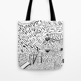 Beach Abstract (1) Tote Bag