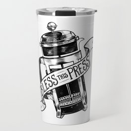 Bless this Press Travel Mug