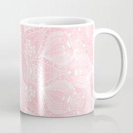 Elegant white mandala design Coffee Mug