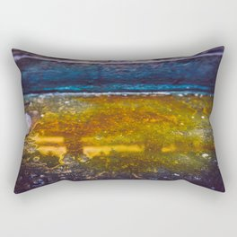 Color Dye and Water  - Two Rectangular Pillow
