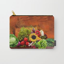 Fall Harvest Profusion Carry-All Pouch