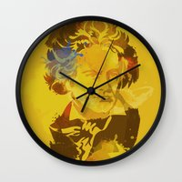beethoven Wall Clocks featuring Beethoven by BIG Colours