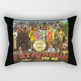 Sgt. Strimbu's Huey Joel Elite Band Rectangular Pillow