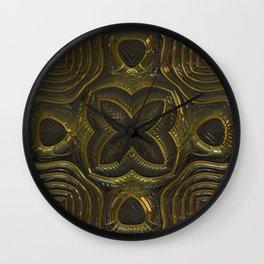 Old Metal Ornament Wall Clock