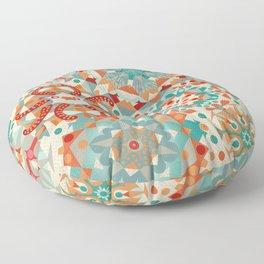 Ocean Kaleidoscope Floor Pillow
