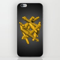 magic the gathering iPhone & iPod Skins featuring Gathering by Charles Emlen