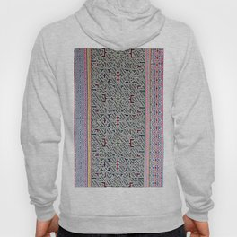 Song to Bring Blessings to a Marriage - Traditional Shipibo Art - Indigenous Ayahuasca Patterns Hoody