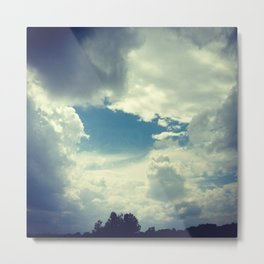 Window in the Sky Metal Print