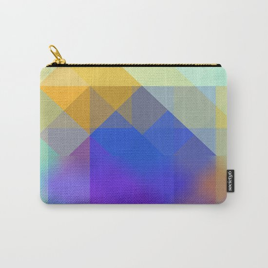Yellow Mountains Carry-All Pouch