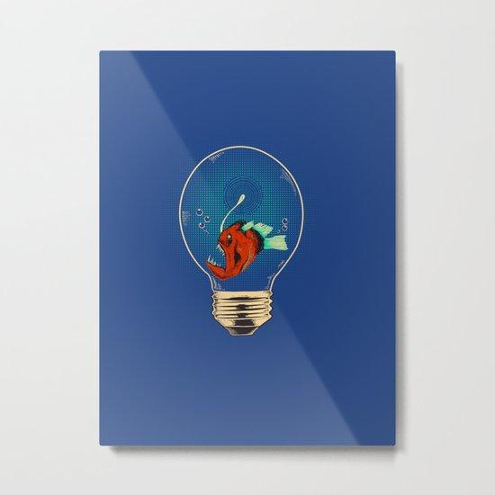 Anglerfish bulb Metal Print