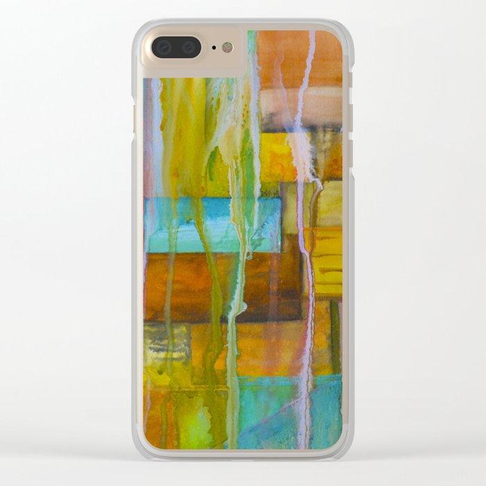 Improvisation 24 Clear iPhone Case