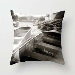 { afternoon boats } Throw Pillow