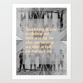 Montaigne 3 Art Print
