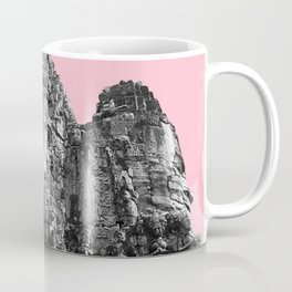 Part of Angkor Wat with pink Coffee Mug