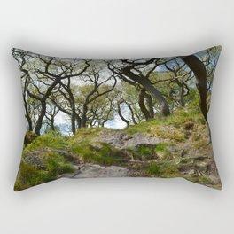 Bendy Trees Rectangular Pillow