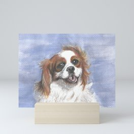 Holly by the sea Mini Art Print