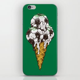 Ice Cream Soccer Balls iPhone Skin