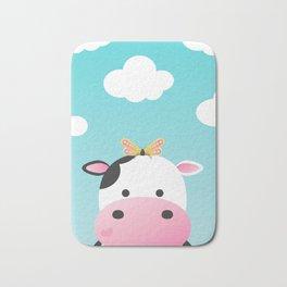 Cow & Buttefly Bath Mat