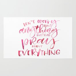 PRAY (Everything) Rug