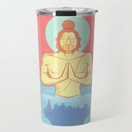 Hanuman Ji : Early morning Meditation  Travel Mug