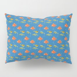 Just Some Pacific Fish Pattern Pillow Sham