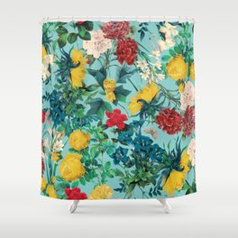 Summer Botanical III Shower Curtain