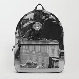 Broken car USA Backpack
