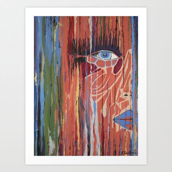 The Way Eye See It Art Print