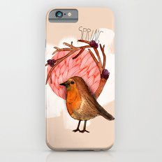 Spring birdy / Nr. 5 Slim Case iPhone 6s