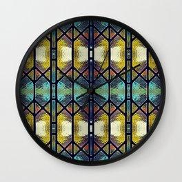 Windowpaned #2 Wall Clock