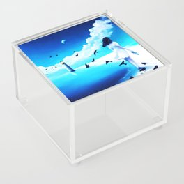 Lighthouse At The Sea Acrylic Box