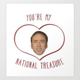 Nicolas Cage Love Kunstdrucke