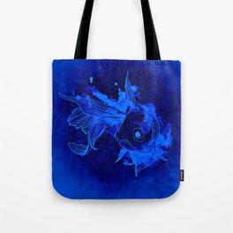 Fish Illustration (Goldfish 2) Tote Bag