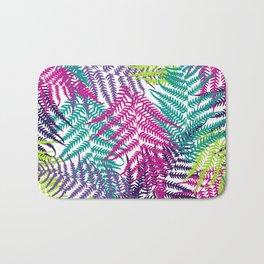 Fern frond seamless pattern Bath Mat