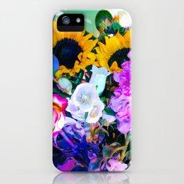 Disco Bouquet II iPhone Case