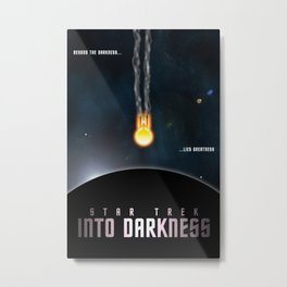 Star Trek Into Darkness Metal Print