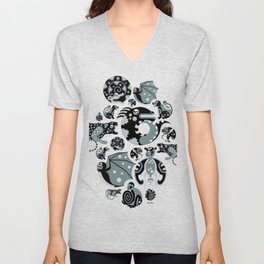 Animales Interiores  Unisex V-Neck