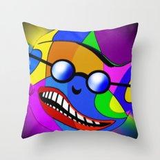 Paint ball.  Throw Pillow