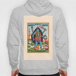 Kali Hindu Goddess Devi Shakti Matches Vintage Graphic Hoody