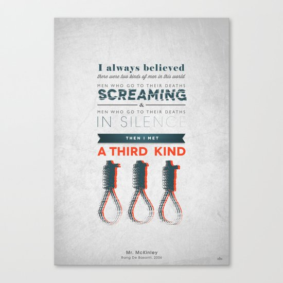 The Third Kind Canvas Print