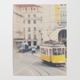 city trams ...  Poster
