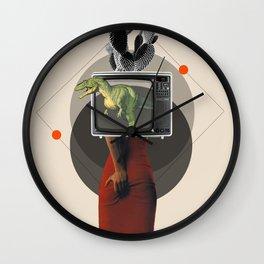 Viewer Wall Clock