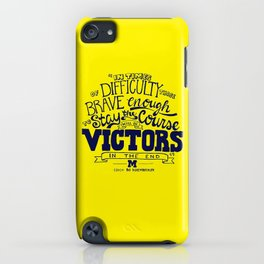 Victors In The End iPhone Case