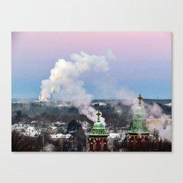 Sub-Zero Sunrise in Portland, Maine (1) Canvas Print