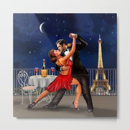 Dancing Under the Stars Metal Print